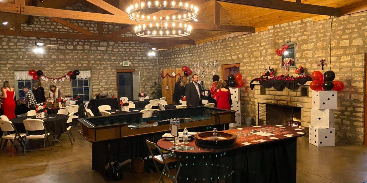 Casino Party at Presidio De San Sabá